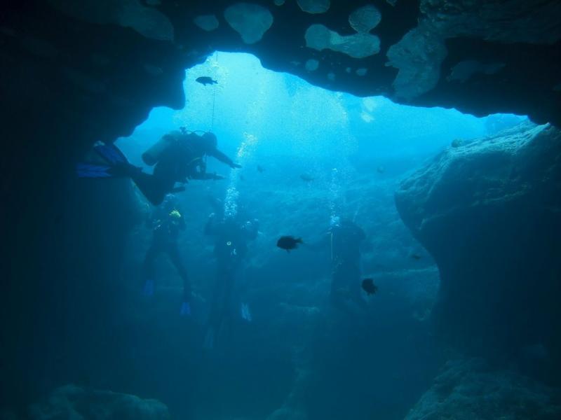 Vortex Springs - Cavern Entrance