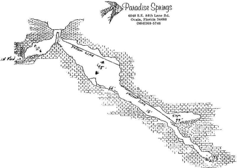 Paradise Springs - Spring - Paradise Springs Underwater Map - Profile