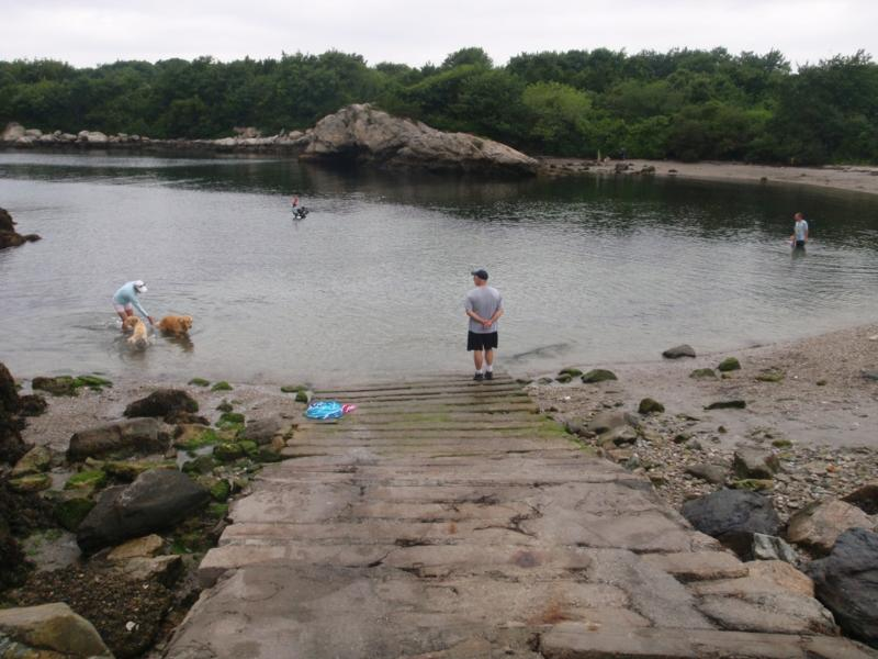 Fort Wetherill - West Cove Boat Ramp