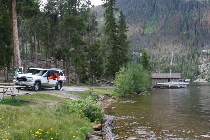 Grand Lake - East Portal picnic area