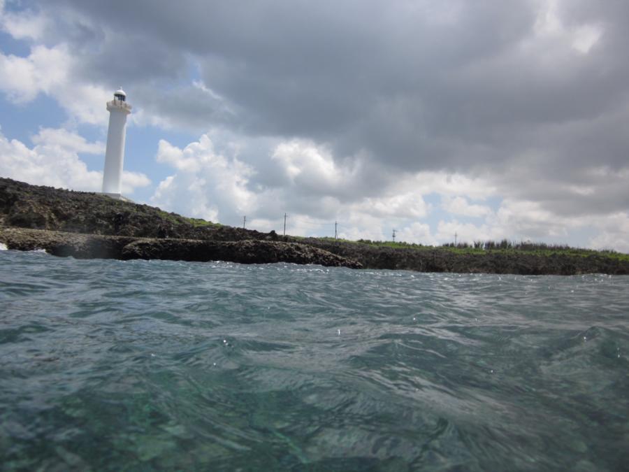 Bolo Pt (Zanpa-misaki) - View from water