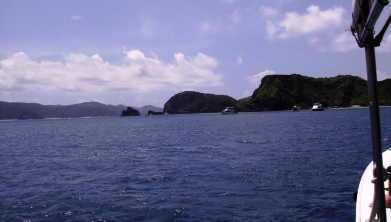 East Zamami-jima - E Zamami-jima dive boats