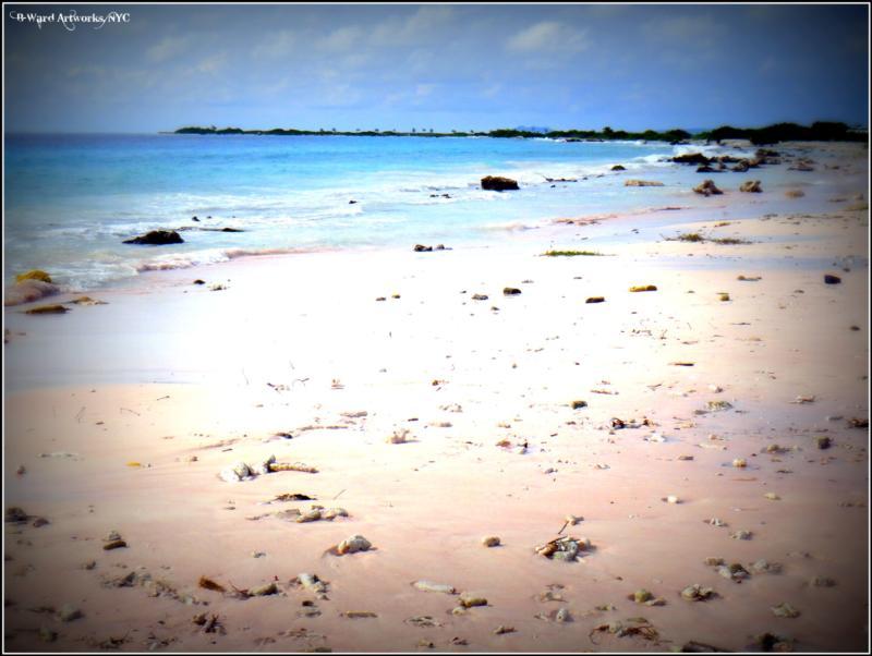 Pink Beach - pink beach, bonaire