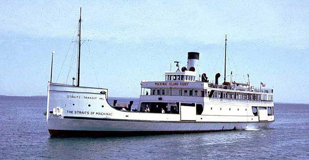 Straits of Mackinac - In better days.