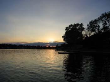 Council Grove City Lake - Water view of lake
