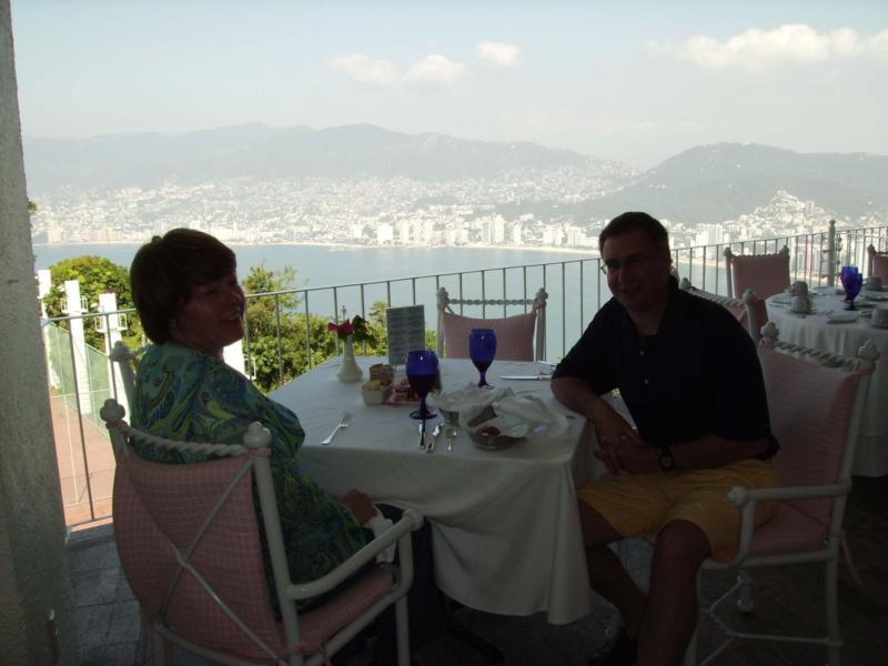 Acapulco - Breakfast at Las Brisas Resort