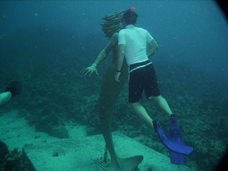 Mermaid at Sunset House aka Amphitrite - kiss me