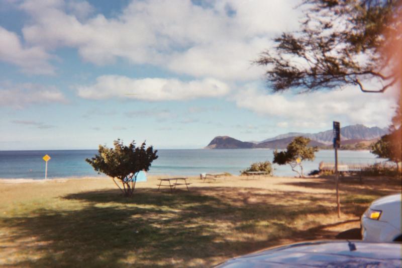 Kahe Point Beach Park (aka Electric Beach), HI - Entry over to the right past the bath houses