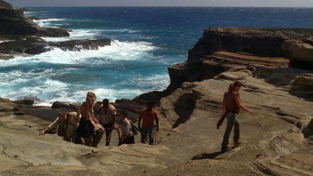 "Lanai Lookout - Scene From TV Show ""Lost"""