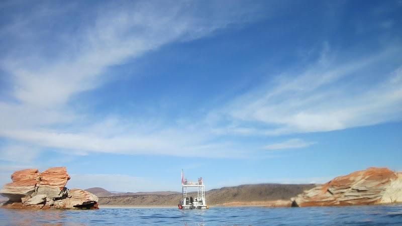Sand Hollow - boat
