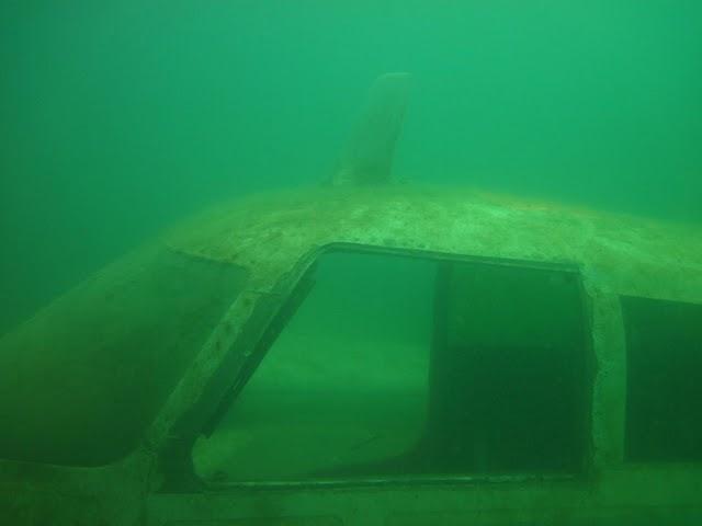 Sand Hollow - sunken plane