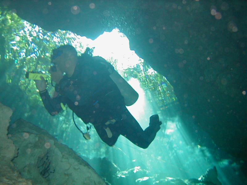 Cenote Chac Mool aka Choc Mool - Chac-Mool Cenote