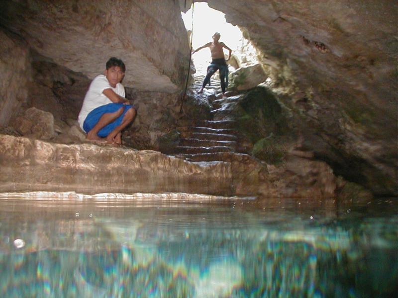 Cenote Chac Mool aka Choc Mool - Chac-Mool Cenote, Entrance