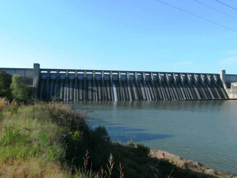 Thurmond Lake and Dam - Thurmond Lake Dam on Savannah River