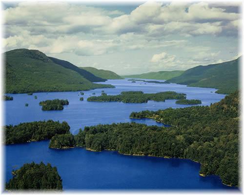 Lake George - Lake George in Adirondacks