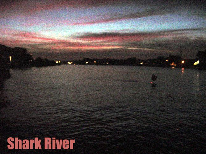 Shark River Inlet - Shark River NJ - In the Channel