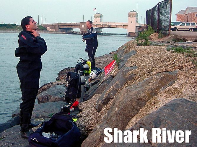 Shark River Inlet - Shark River NJ - Gearing Up