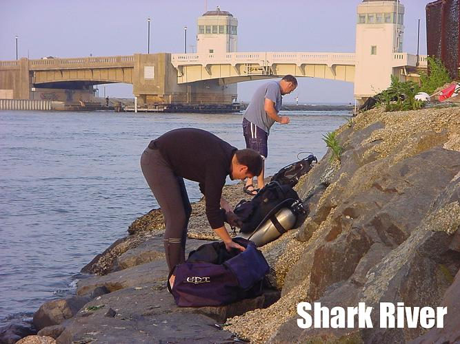 Shark River Inlet - Shark River NJ - Setting Up