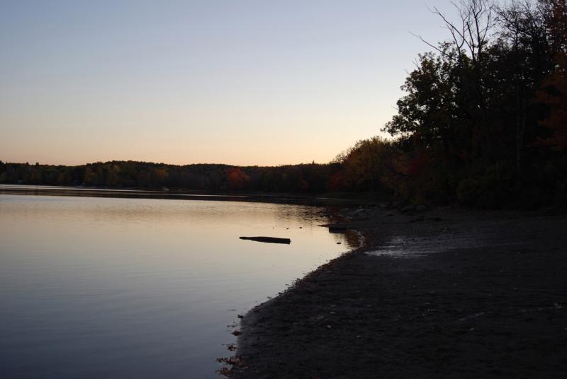 Thompson's Lake State Park - Thompson's Lake @ Dusk