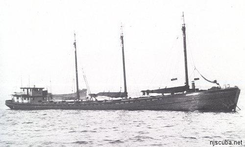120 Wreck - Example of Schooner Barge