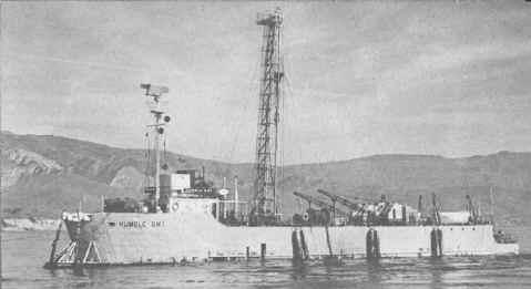 Humble SM-1 - Oil Barge Wreck