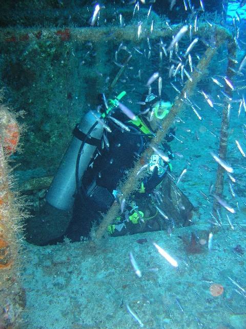 C-53 Wreck, Felipe Xicotencatl - Going up a deck