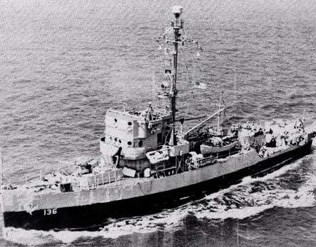C-53 Wreck, Felipe Xicotencatl - Lead ship in class, aft deck is not covered like on C-53