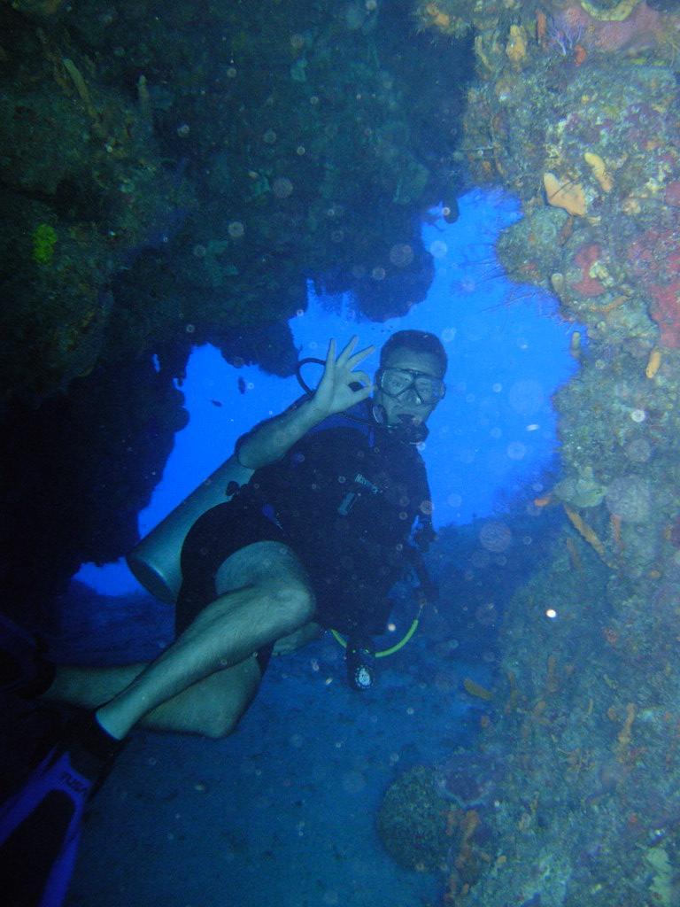 Palancar Caves - Matt @ Palancar Caves