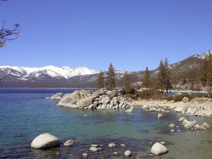 Sand Harbor - Lake Tahoe - Diver's Cove at Sand Harbor
