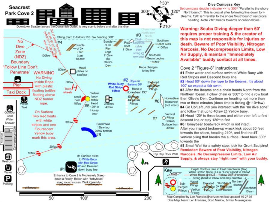 Alki Cove 2 - Aliki Cove 2 Map