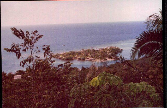 Anthony's Keys resort - View of AKR from the top of the hill