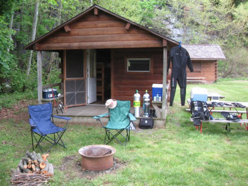 Willow Springs Park - Cabin Setup