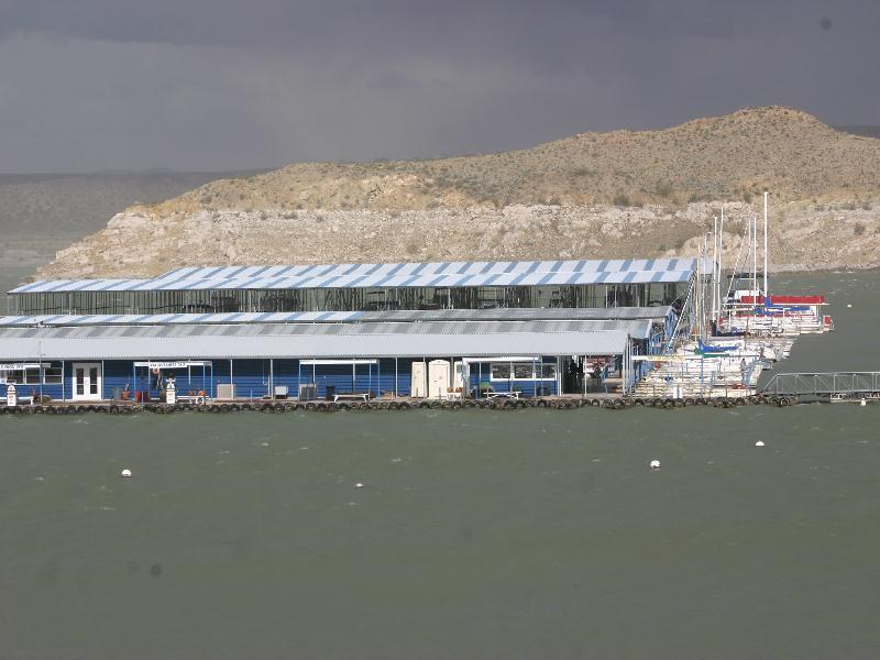 Elephant Butte State Park - the marina
