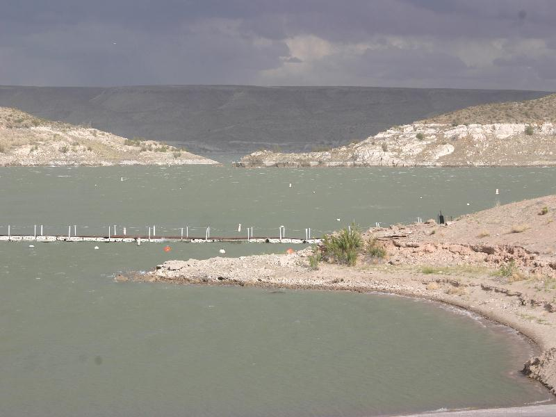Elephant Butte State Park - lake view