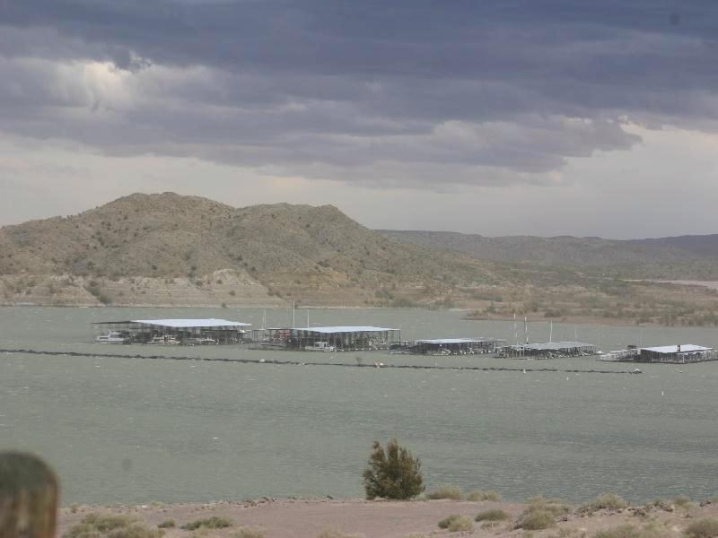 Elephant Butte State Park - view of marina