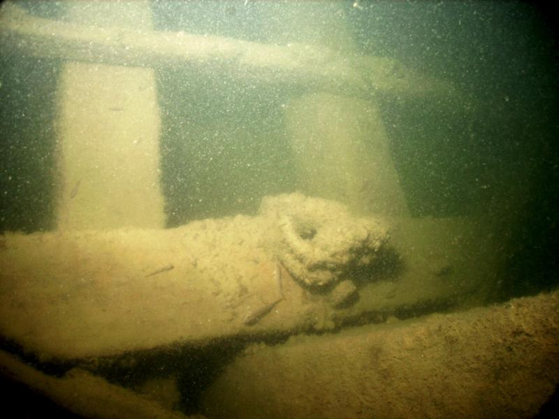 Anthony Wayne - Underwater photo of shipwreck in Lake Erie