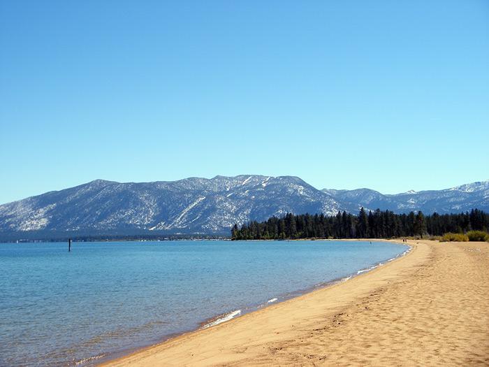 Baldwin Beach - Lake Tahoe - Baldwin Beach looking East