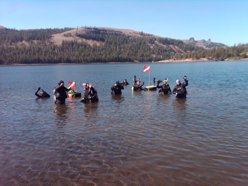 Caples Lake, El Dorado County - Caples Lake