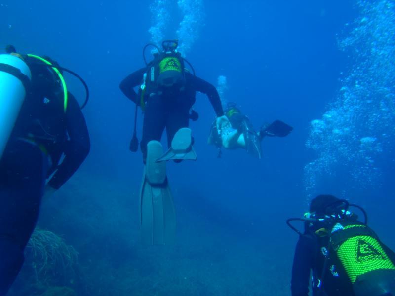 La Azohia,Spain - B4V Divers in July 2010