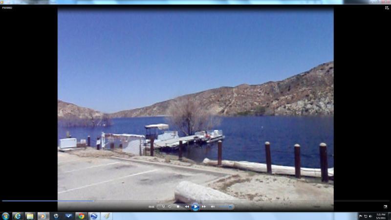 Littlerock Reservoir - central view
