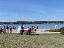 Nagawicka Lake - Nagawicka Lake - Beach view