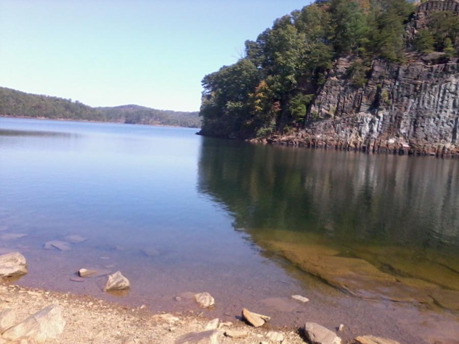 Carters Lake Chatsworth Ga