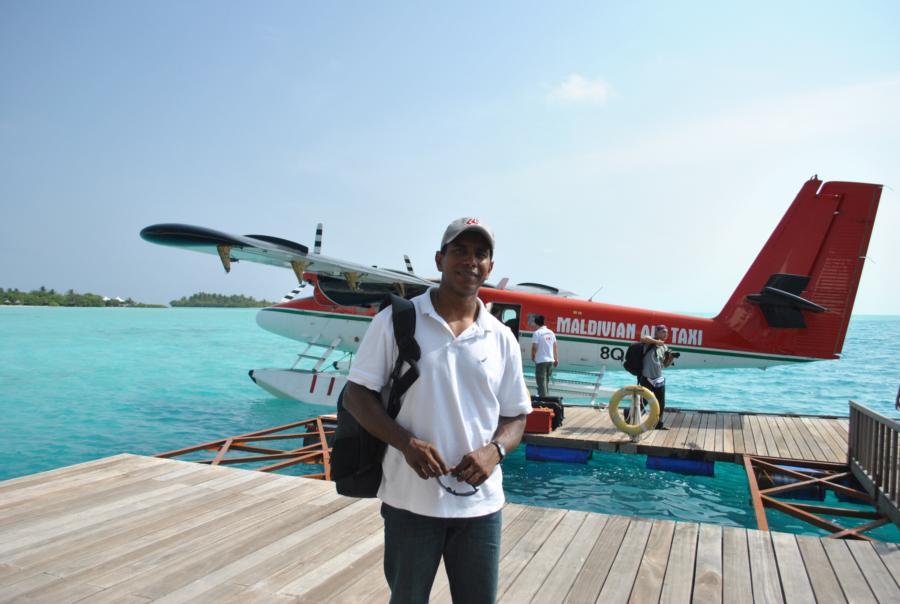 Meemu Atoll - on the deck!