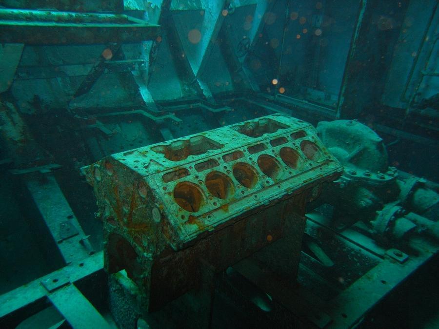 Kittiwake - Engine block