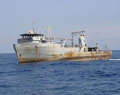 Capt. Greg MicKey - Ship before sinking