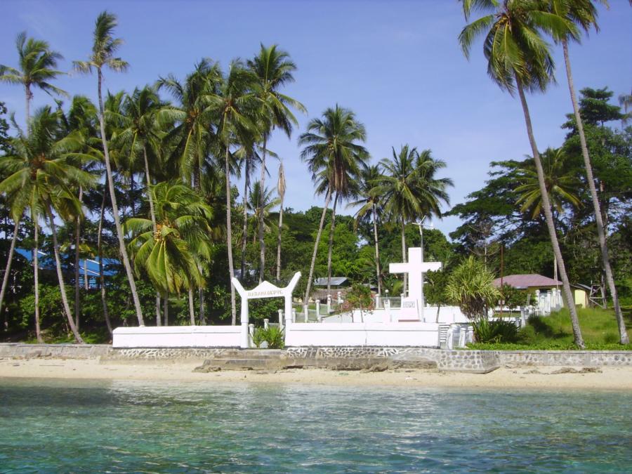 Mansinam Cross Wreck - The Cross of Pulau Mansinum