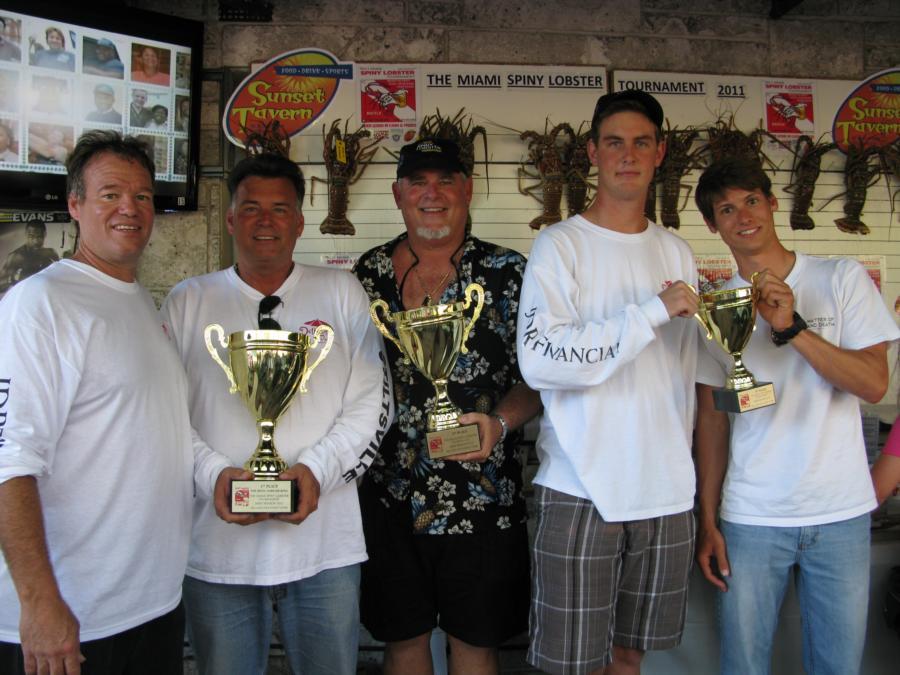 Dry Rocks, Key Largo - the winners