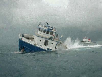 Tacoma - Sinking the Tacoma