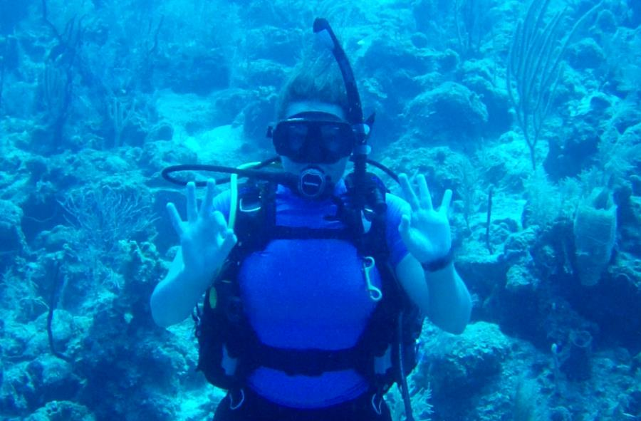 Turneffe Atoll - Black Pearl - 1st warm water sea dive