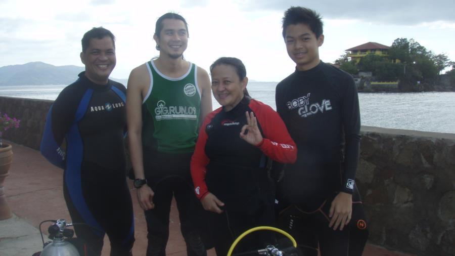 Bauan Divers Sanctuary - A dive week end - with Dive buddies